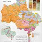 Почвенная карта Московской области